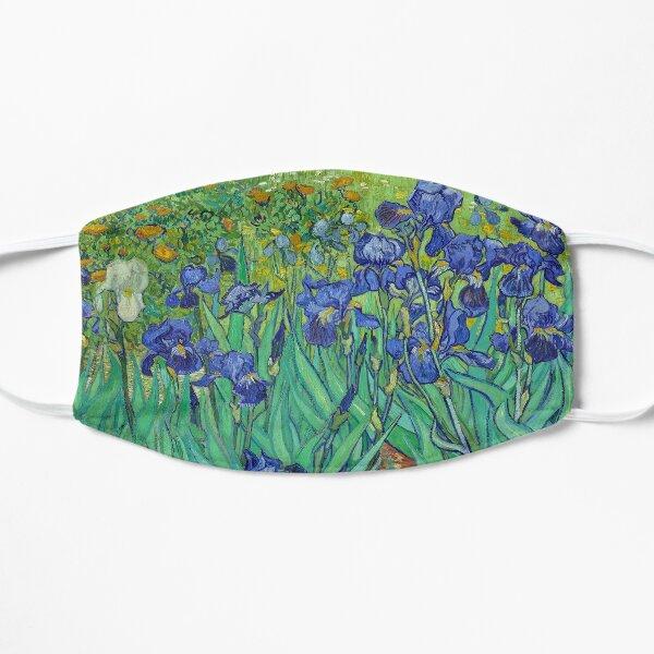 Irises HD (1890) by Vincent Van Gogh Flat Mask