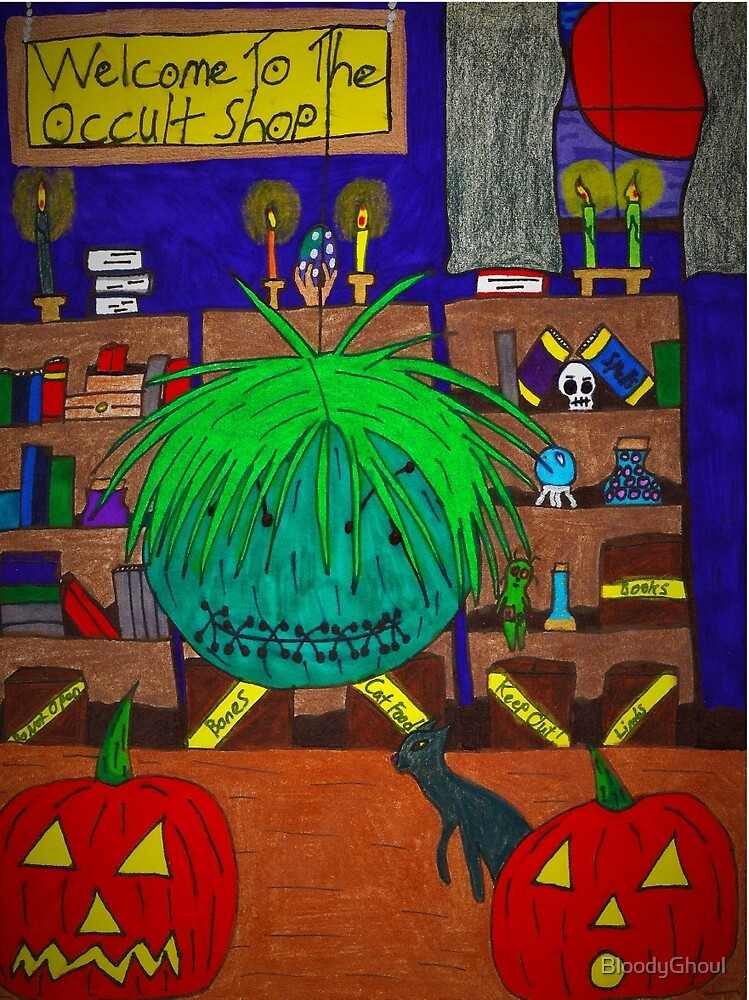 Halloween - Occult Shop by BloodyGhoul