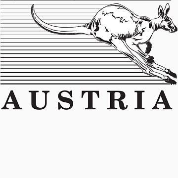 Australia Kangaroos of Austria by robroyneat