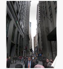 Wall Street, NYC Poster