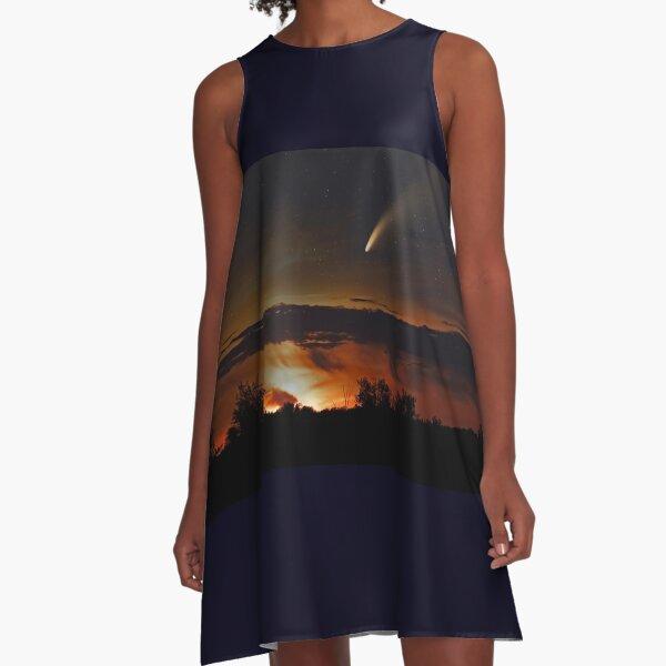 Comet Neowise - Composite A-Line Dress