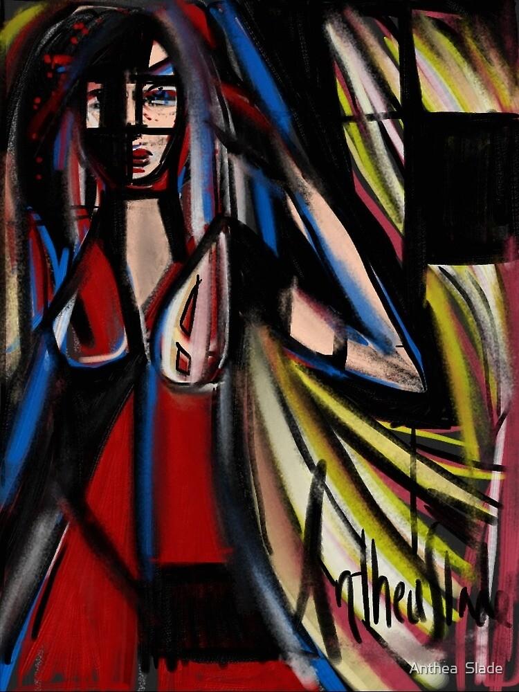 Through a glass darkly by Anthea  Slade