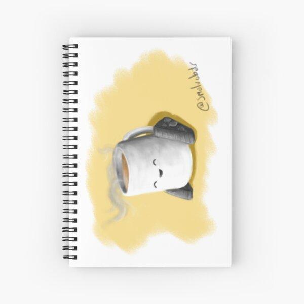 Teabot Art Spiral Notebook