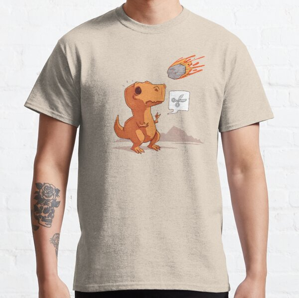 Asteroid, Paper, Scissors Classic T-Shirt