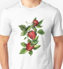 Raspberries Unisex T-Shirt