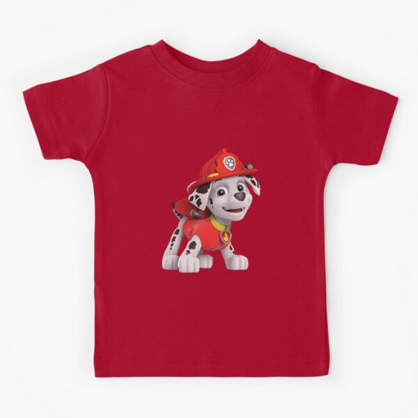 Paw Patrol Fireman Kids T-shirt 2020 & mask  Kids T-Shirt