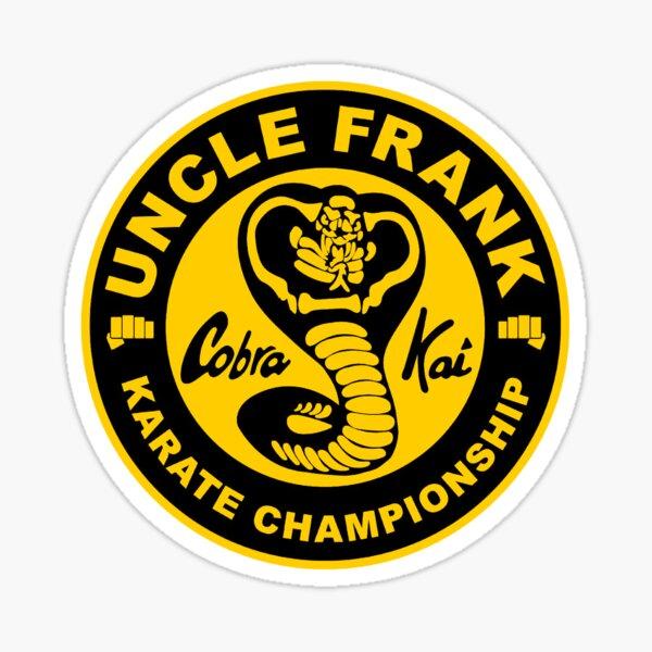 Uncle Frank Karate School Sticker