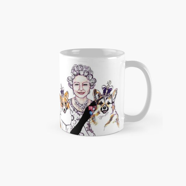 Queen and Corgis Classic Mug