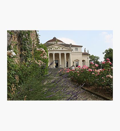Lavender, Roses & Rotonda Photographic Print