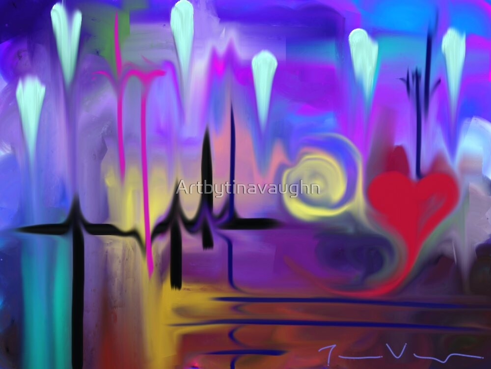 With Every Beat of My Heart by Artbytinavaughn