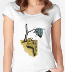 Slavador Dalek Women's Fitted Scoop T-Shirt