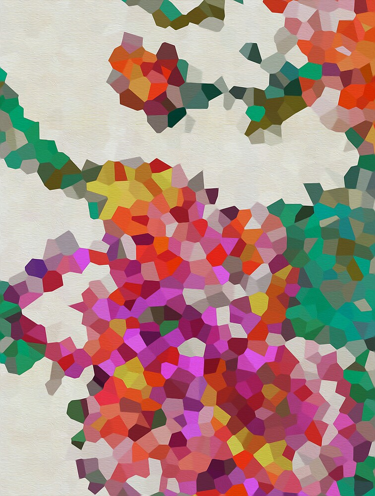 Geometric Blossoms by kdwolfe