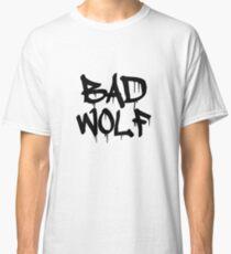 Bad Wolf #1 - Black Classic T-Shirt