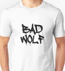 Bad Wolf #1 - Black Unisex T-Shirt