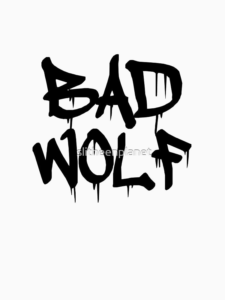 Bad Wolf #1 - Black | Unisex T-Shirt