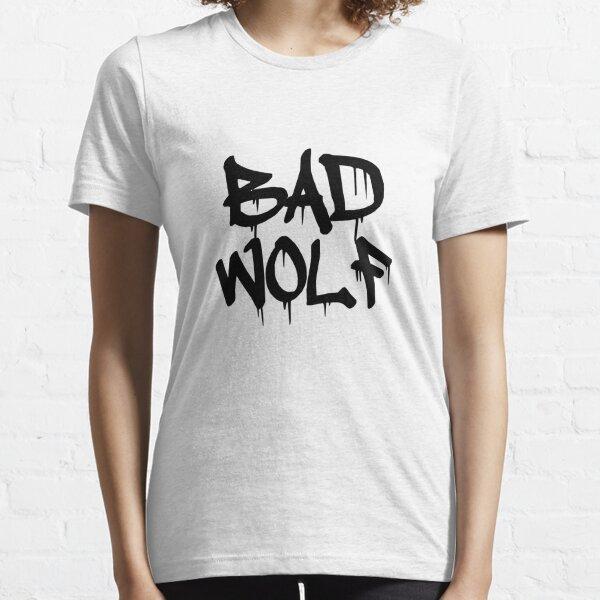 Bad Wolf #1 - Black Essential T-Shirt