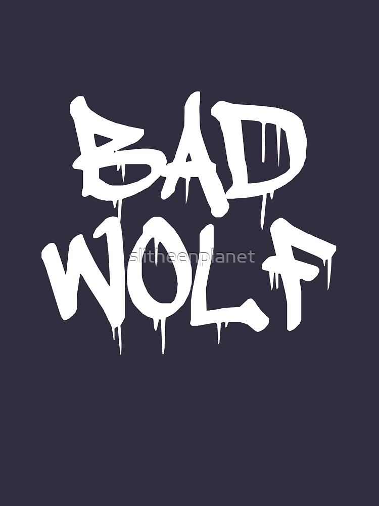 TShirtGifter presents: Bad Wolf #1 - White | Unisex T-Shirt