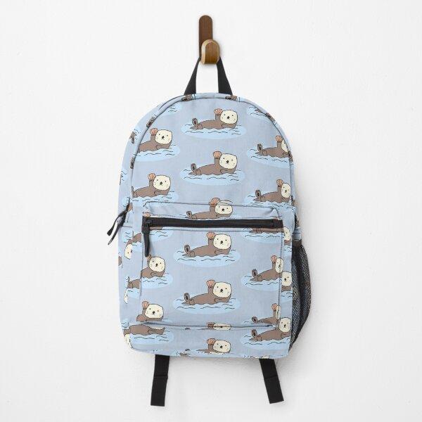 Cute Sea Otter Backpack