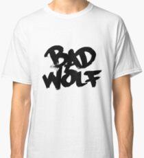 Bad Wolf #2 - Black Classic T-Shirt