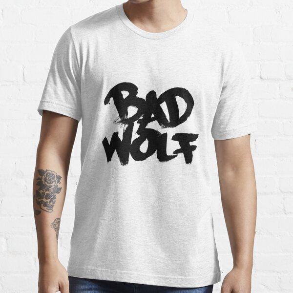 Bad Wolf #2 - Black Essential T-Shirt