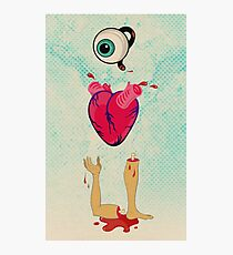 Eye Heart U Photographic Print