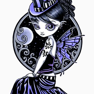 Audrey Gothic Couture Fairy by MykaJFairies