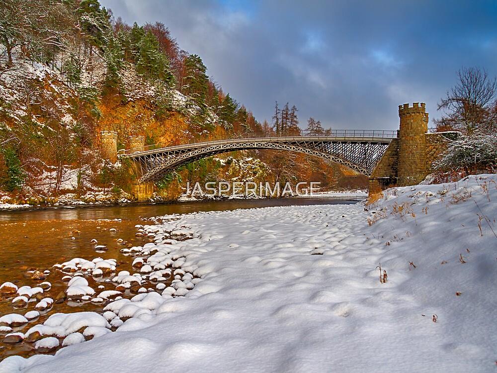 CRAIGELLACHIE - WINTERS BRIDGE by JASPERIMAGE