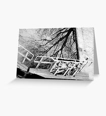 Paris - Canal St Martin Greeting Card