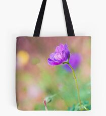 Proud Purple Cranesbill Tote Bag