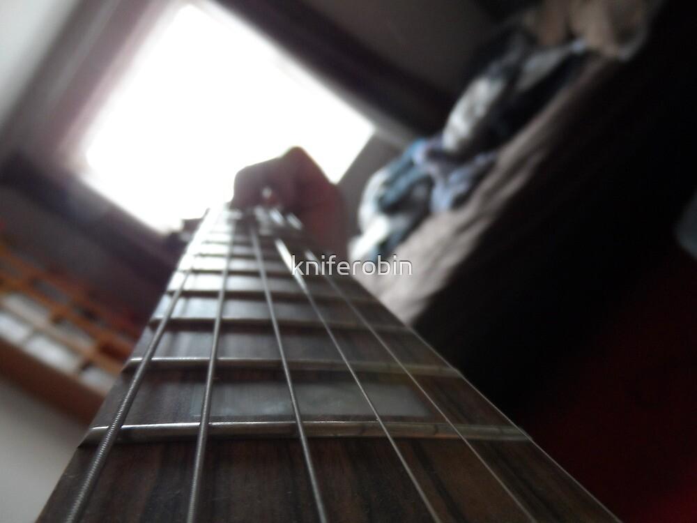 Guitar Head by kniferobin