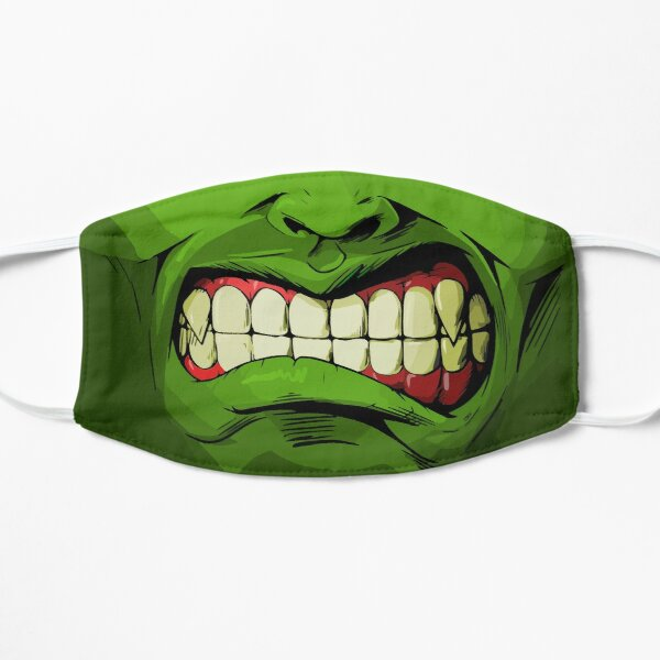 SMASH! Green Angry Hero Mask