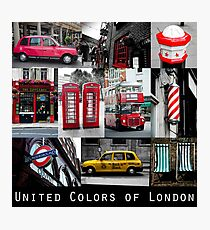 London - iconic images Photographic Print