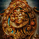The Jester watching over over the Golden Ring by Debra Fedchin