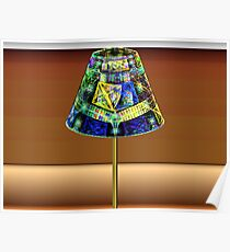 Tut63#3:  Pole Lamp  (G1375) Poster