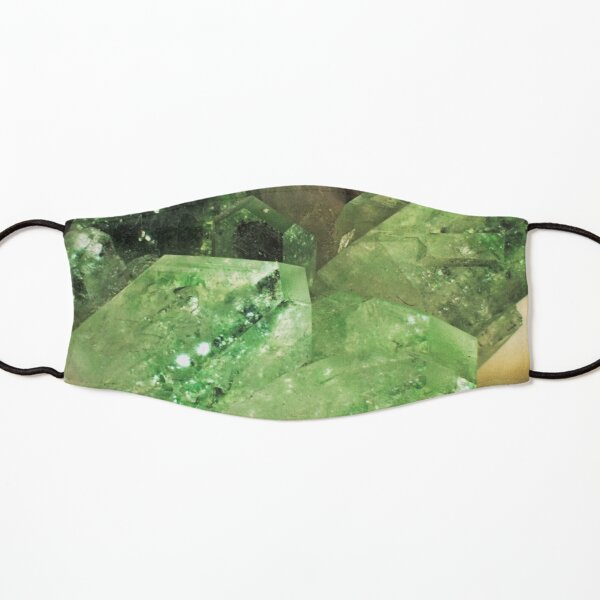 Green Glitter (Apophyllite) Kids Mask