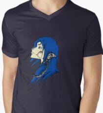 Midnight Elf Design Mens V-Neck T-Shirt