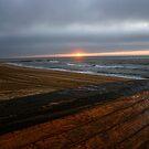 Sunrise in Ocean Grove by Debra Fedchin