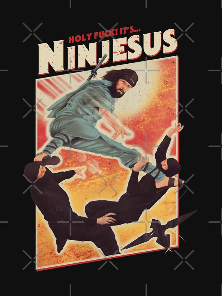 Holy fuck It's... NINJESUS by Abdeslam98