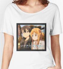 SAO Kirito and Asuna Women's Relaxed Fit T-Shirt