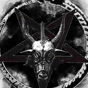 Baphomet Head Illuminati God  by NoxBy