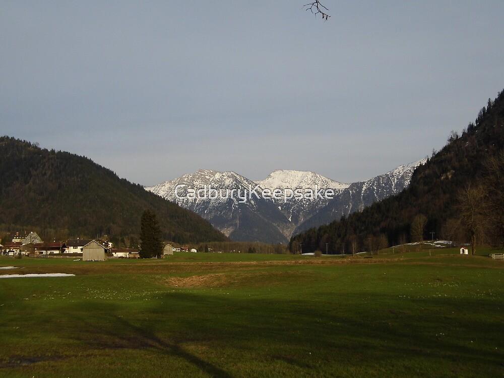 Mountain View in Austria by CadburyKeepsake