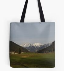 Mountain View in Austria Tote Bag