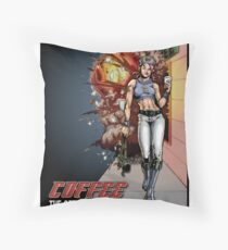 Coffee - The Official Beverage of Revolution Throw Pillow
