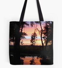 JULY SUNSET ON ECONFINA CREEK Tote Bag
