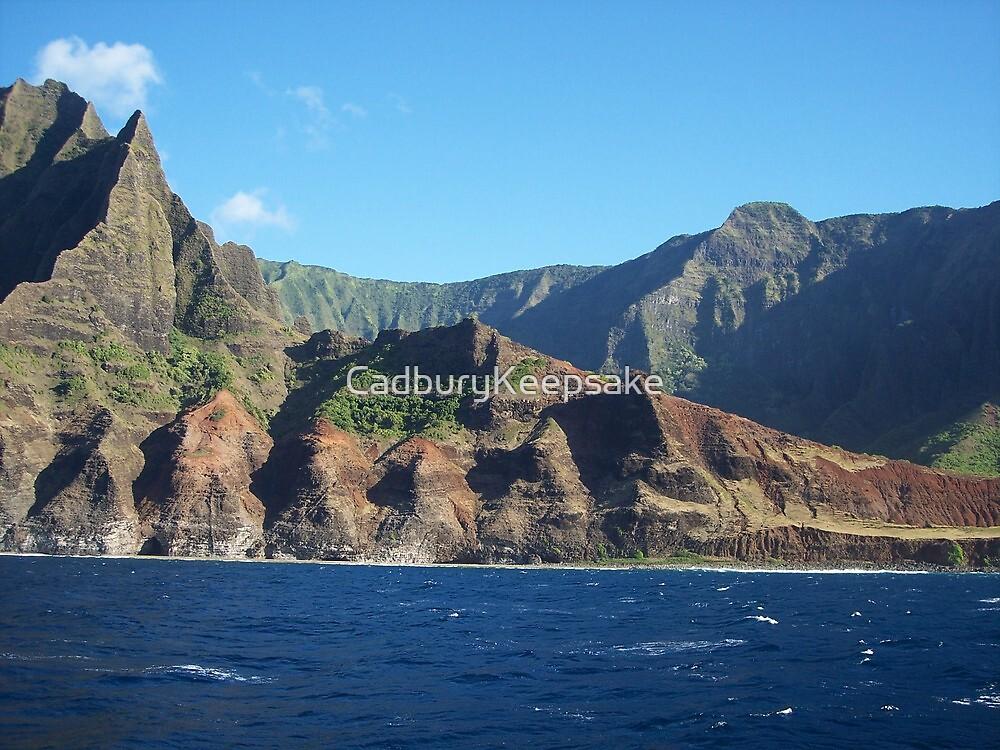Mountains of Hawaii by CadburyKeepsake
