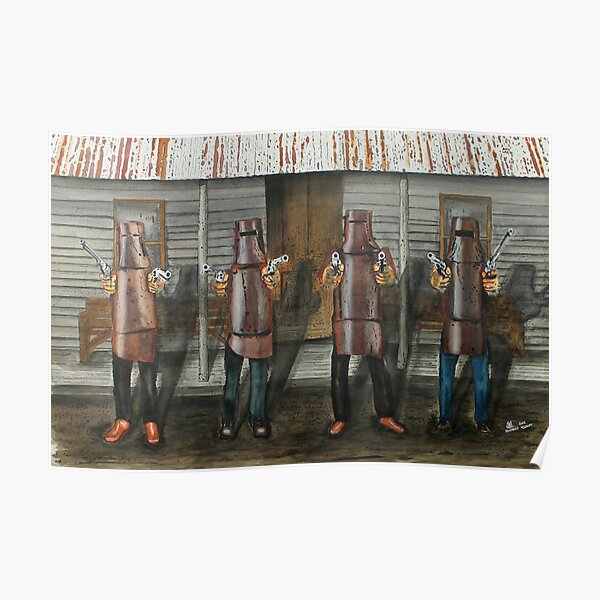 Ned Kelly Gang Poster
