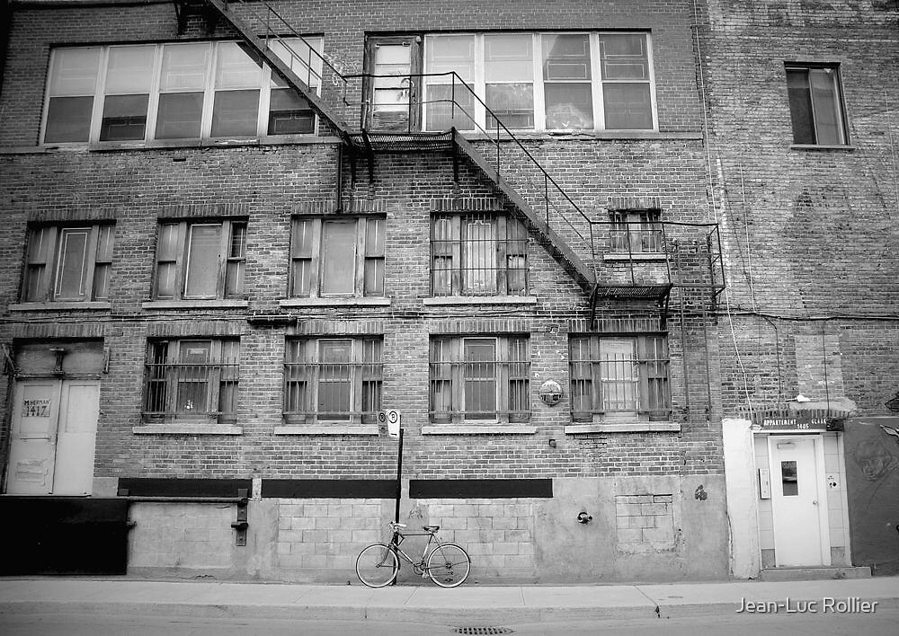 Montréal - La bicyclette by Jean-Luc Rollier