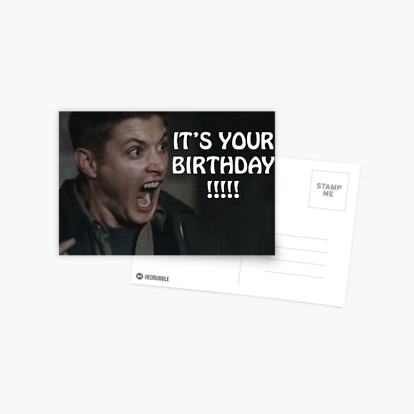IT'S YOUR BIRTHDAY!!!!! Postcard