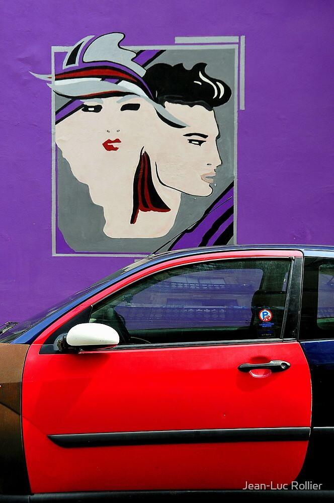 L'Affiche Mauve by Jean-Luc Rollier