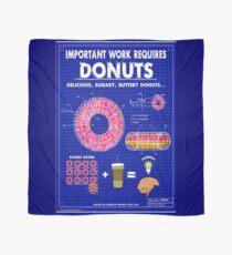 Donuts Blueprint Scarf
